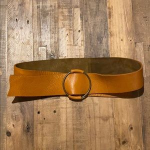100% cow leather belt